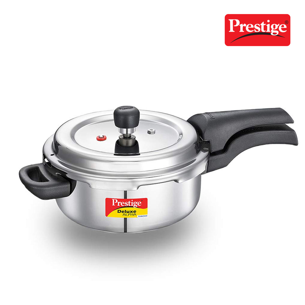 Prestige Svachh Deluxe Alpha 3.0 Litre Stainless Steel Pressure Cooker