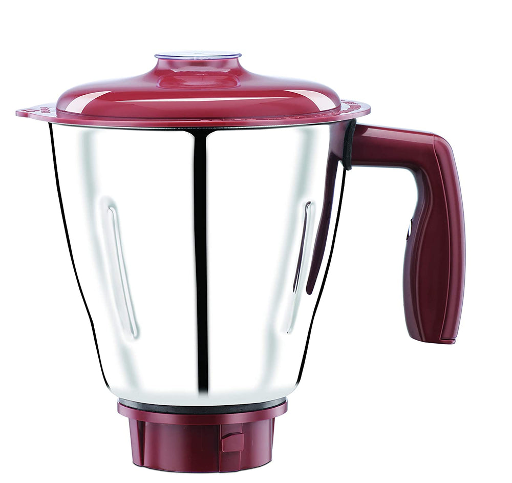 Load image into Gallery viewer, Bajaj Ivora Crimson Red 800 Watts, 3 Jar Mixer Grinder with Anti-Germ & Anti-Dust Coating