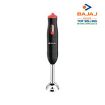Bajaj HB 21 300 W Hand Blender  (Black & Peach)