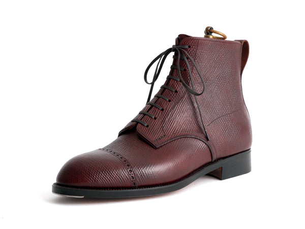 Punched Cap Derby Boots