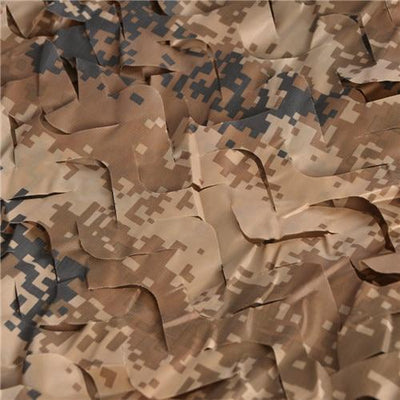 filet de camouflage sable fil beige (1.5m x 4m)