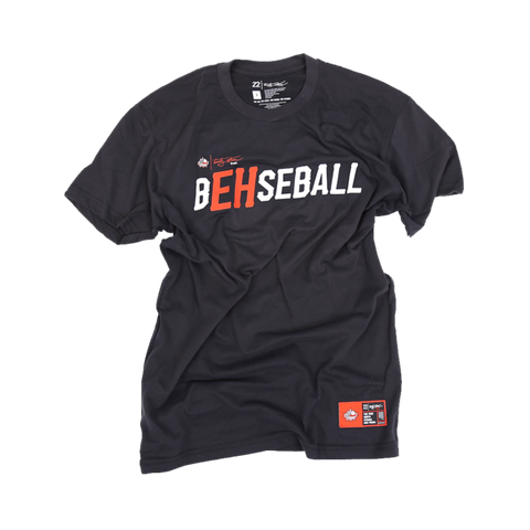 B'EH'seball T- Black | B'EH'seball T-Shirt Noir