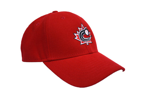 Baseball Canada Adjustable Hat|Casquette ajustable de Baseball Canada (Red/rouge)