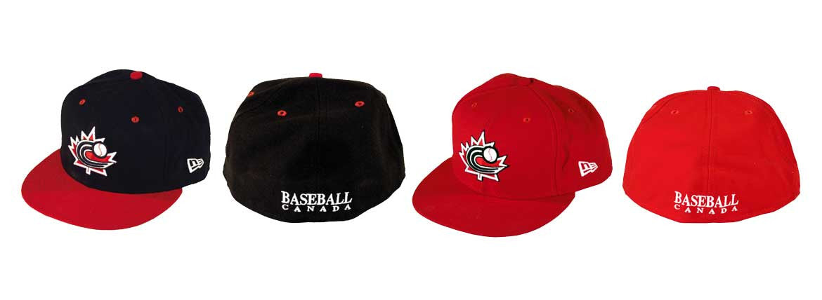 Baseball Canada Fitted Hats|Casquette Baseball Canada
