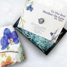 Load image into Gallery viewer, mother-in-law scarf gift set-Stephydesignhk