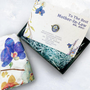 mother-in-law scarf gift set-Stephydesignhk