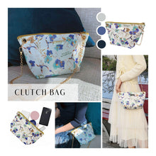 "Load image into Gallery viewer, StephyDesignHK ""Prom"" hand-painted zipper canvas bag/shopping bag/environmental protection bag/wenqing canvas bag"