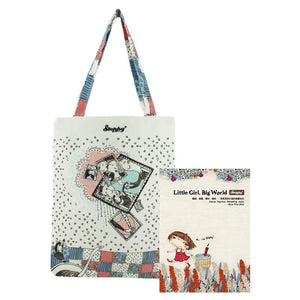 stephy canvas shopping bag
