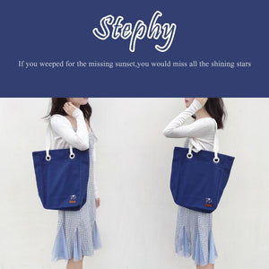 canvas shopping bag-Stephydesignhk