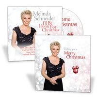 Signed I'll Be Home For Christmas EP & Christmas Card by Melinda Schneider