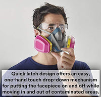 Face Mask for Crushing Chalk
