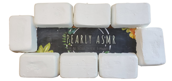 8 White Chalk Bricks