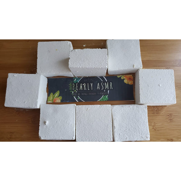 8 White Chalk Blocks