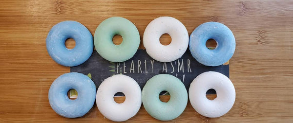 8 Assorted Colors Chalk Donuts