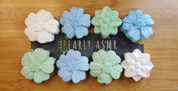 8 Assorted Colors Chalk Flowers
