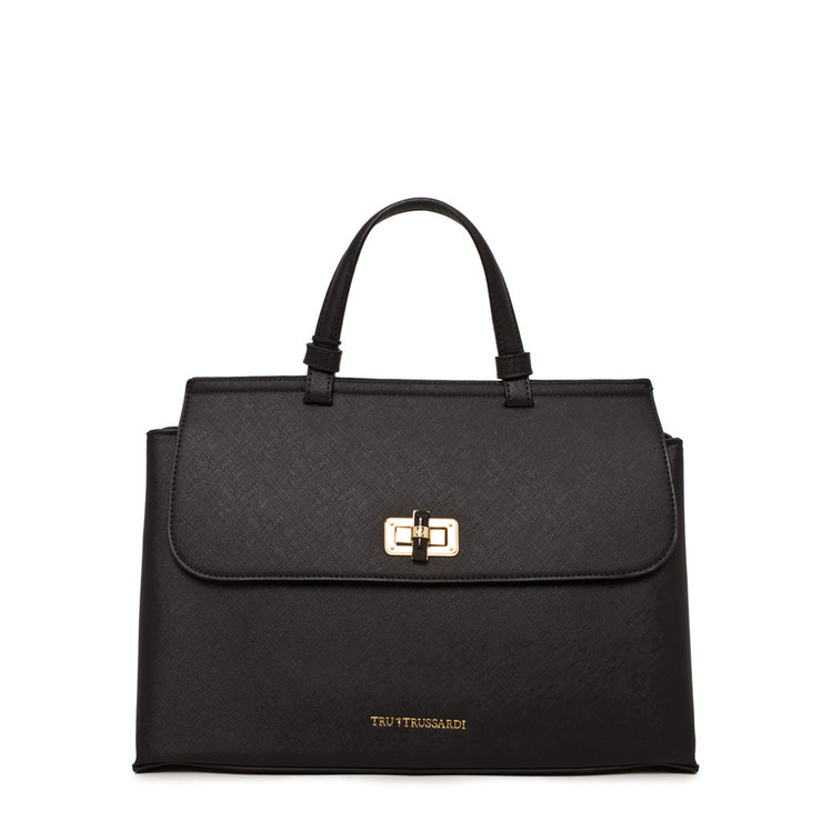 Trussardi - Women's Black Leather Handbag