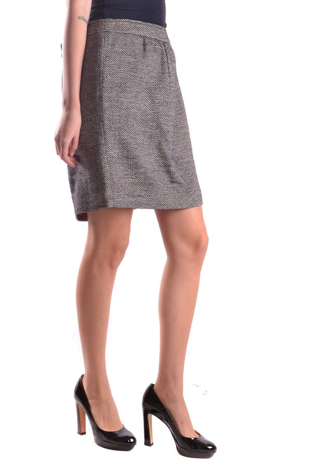 Dolce & Gabbana  Women Skirt Marl Pattern - Grey