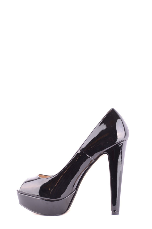 Steve Madden Women's Open Toe Shoes - Black