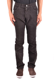 Dolce & Gabbana Men's Trousers Plain Pattern - Brown