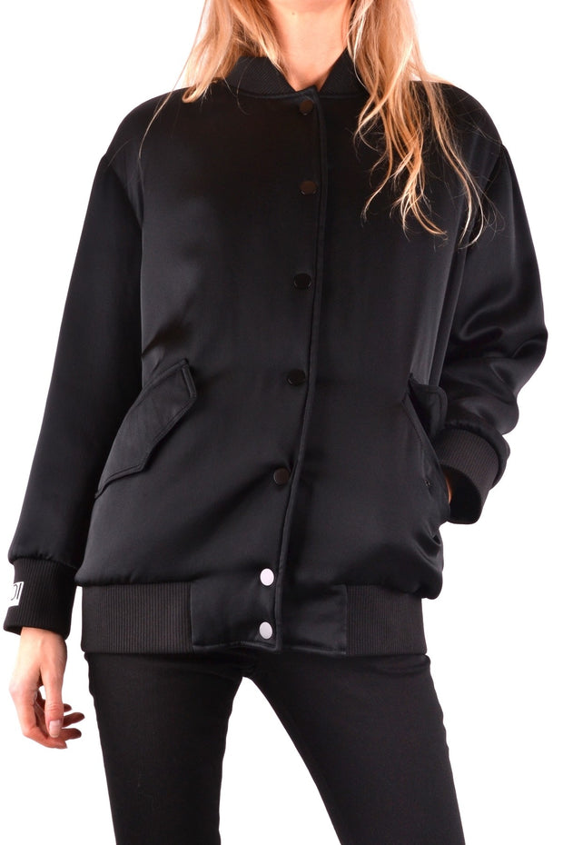 Fendi  Women's Jacket Plain Pattern - Black