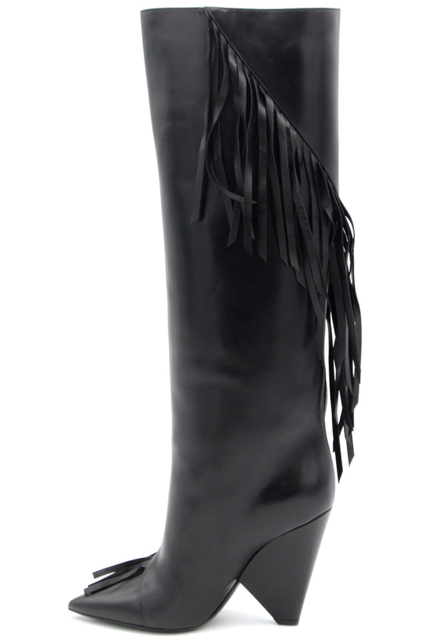 Saint Laurent Women's Leather Boots - Black