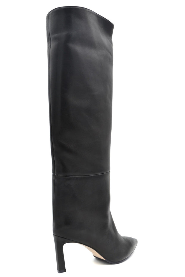 Stuart Weitzman Women's Knee High Leather Boots - Black