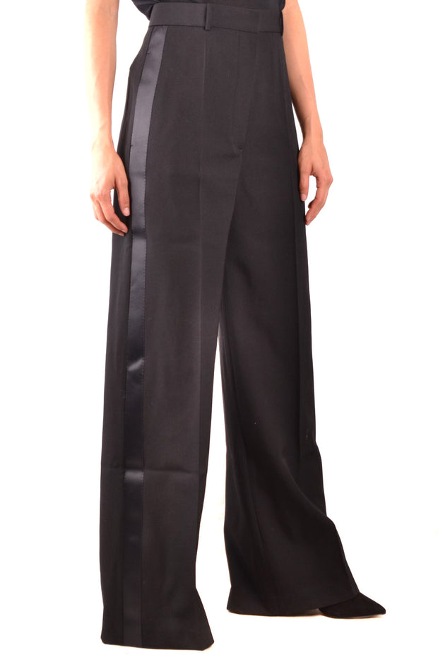 Burberry - Women's Pants With Zip - Black