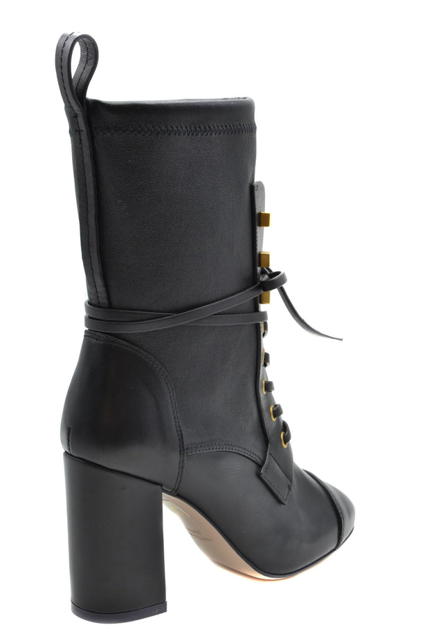 Stuart Weitzman Women's Leather Ankle Boots - Black
