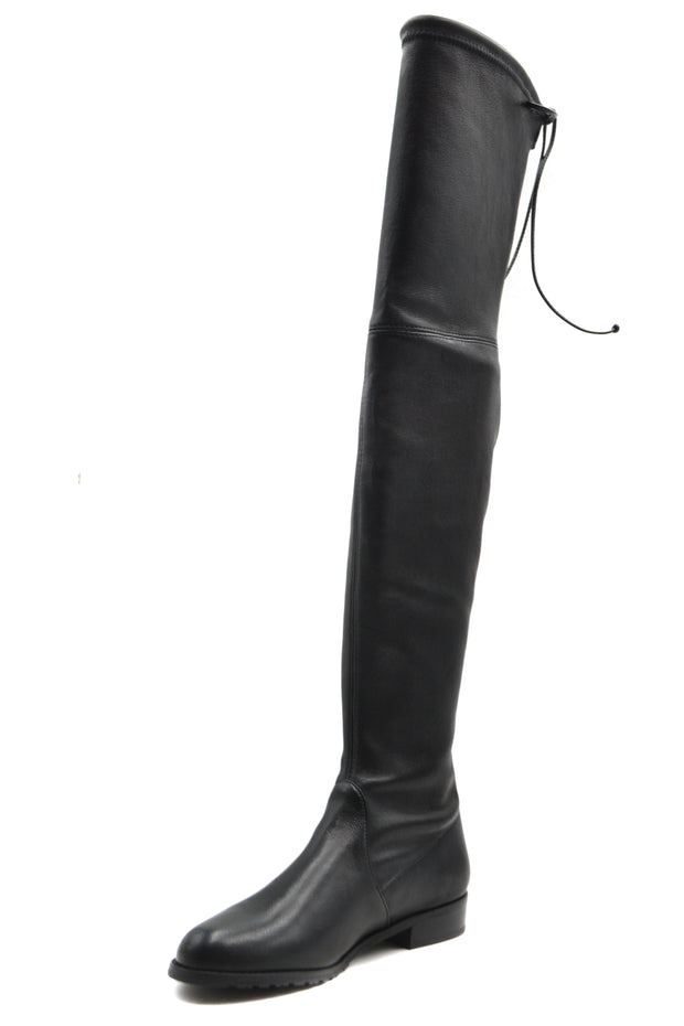 Stuart Weitzman Women Knee High Leather Boots - Black