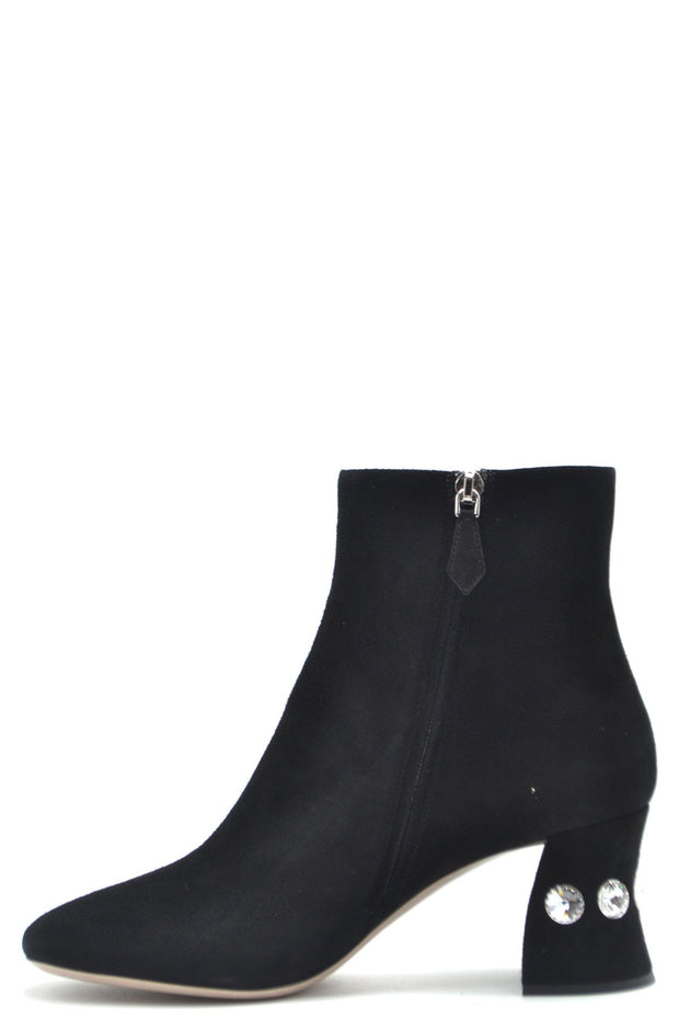 Sergio Rossi Women's Suede Boots - Black