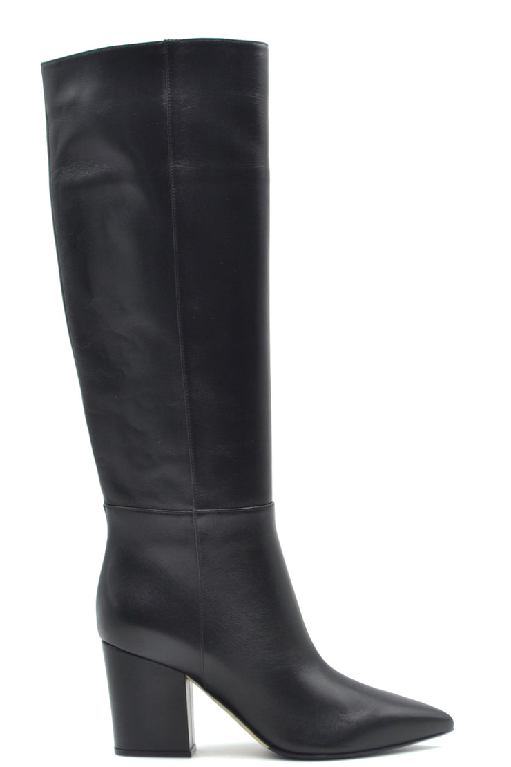 Sergio Rossi Women's Leather Boots - Black