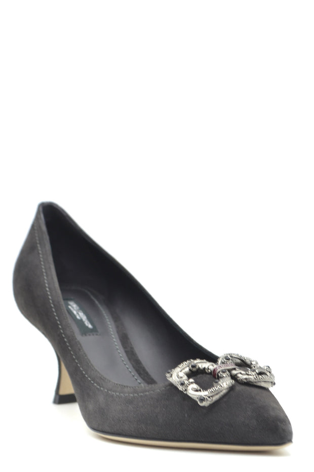 Dolce & Gabbana Women's Pumps Shoes - Grey