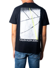 Calvin Klein - Men's T-Shirt Short Sleeves - Black