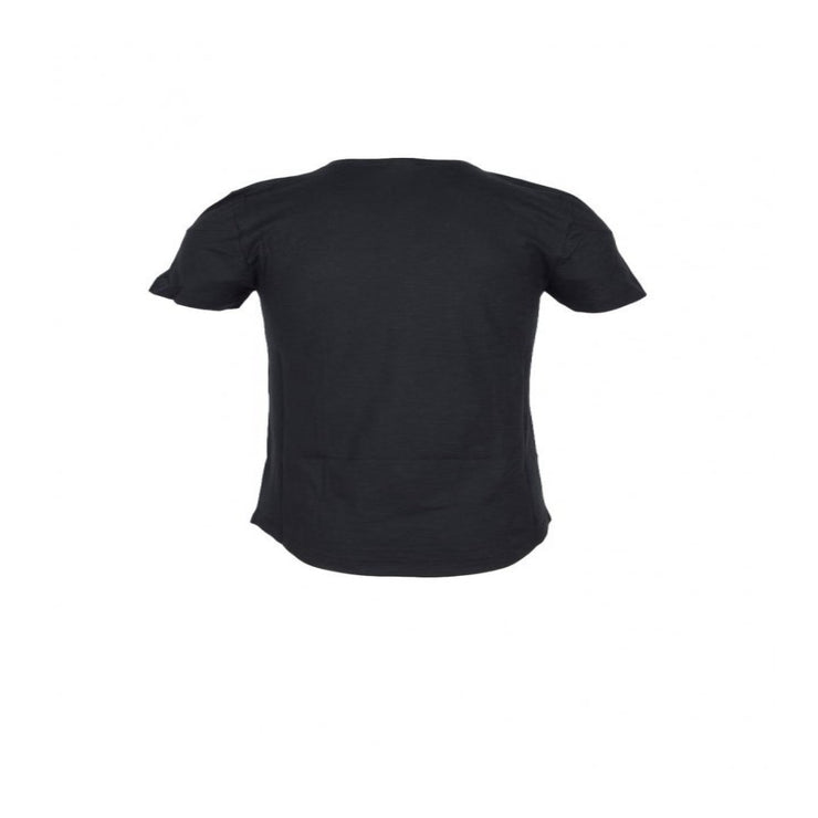 Bikkembergs - Men's Black V-Neck T-Shirt