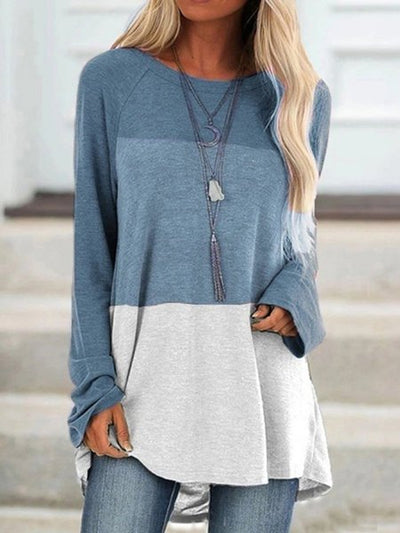 Color-Block Casual Shirts & Tops