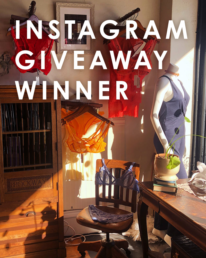 Instagram Giveaway Winner!