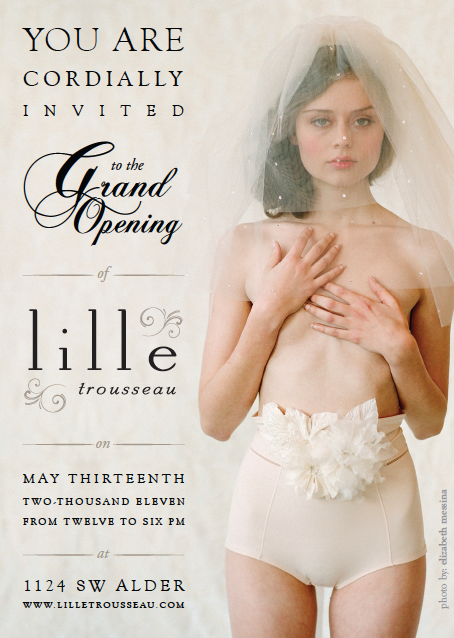 Lille Trousseau's Grand Opening!