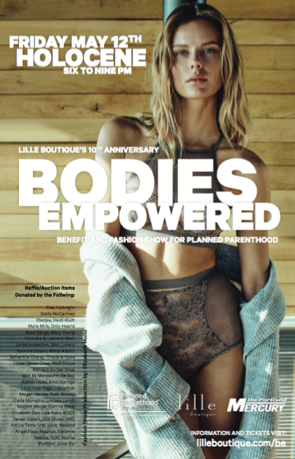 Bodies Empowered: Lille's 10th Anniversary and Planned Parenthood Benefit