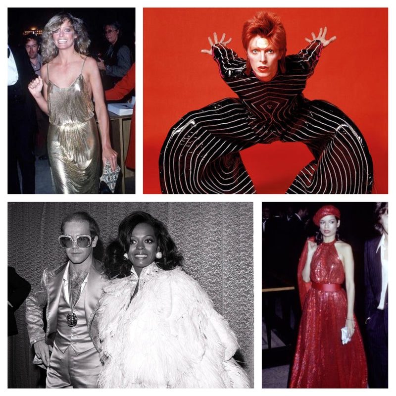 Halloween Inspiration: '70s Glam