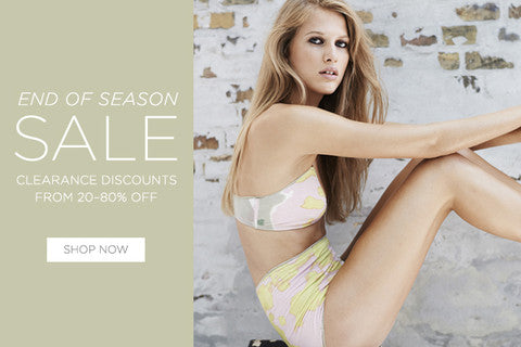 End of Season Sale on Now!