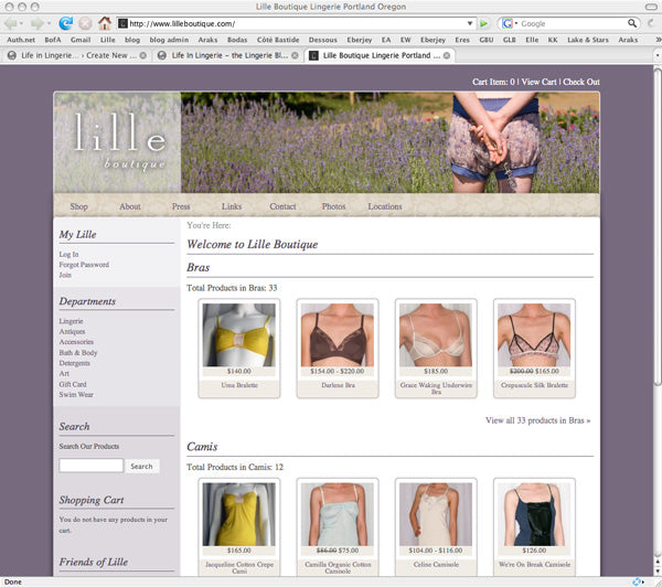 Lille's New Webstore - Soft Launch