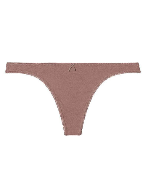 Eberjey Pima Goddess Everyday Thong