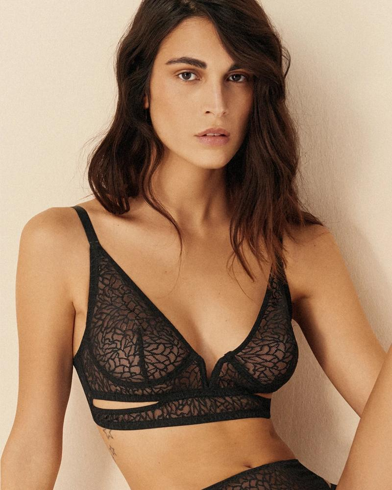 Else Zoe Soft Cut Out V Bra