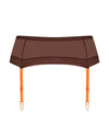 Maison Close Brown / L Corps a Corps Garter Belt