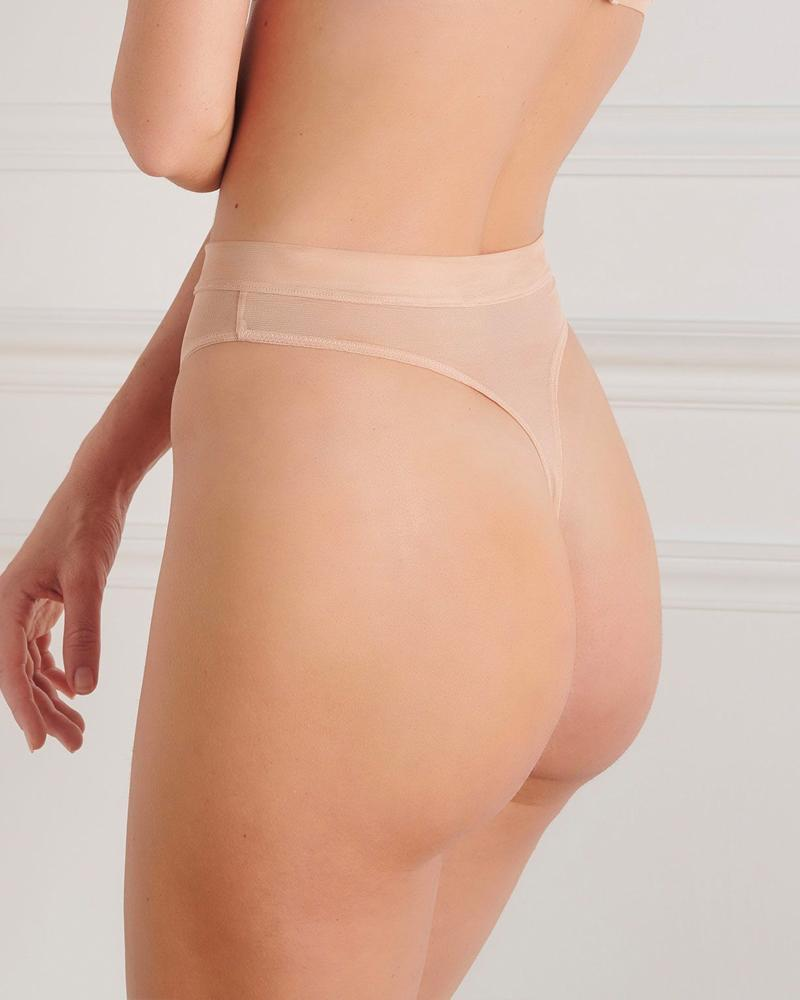 Maison Close Corps A Corps High Waist Thong