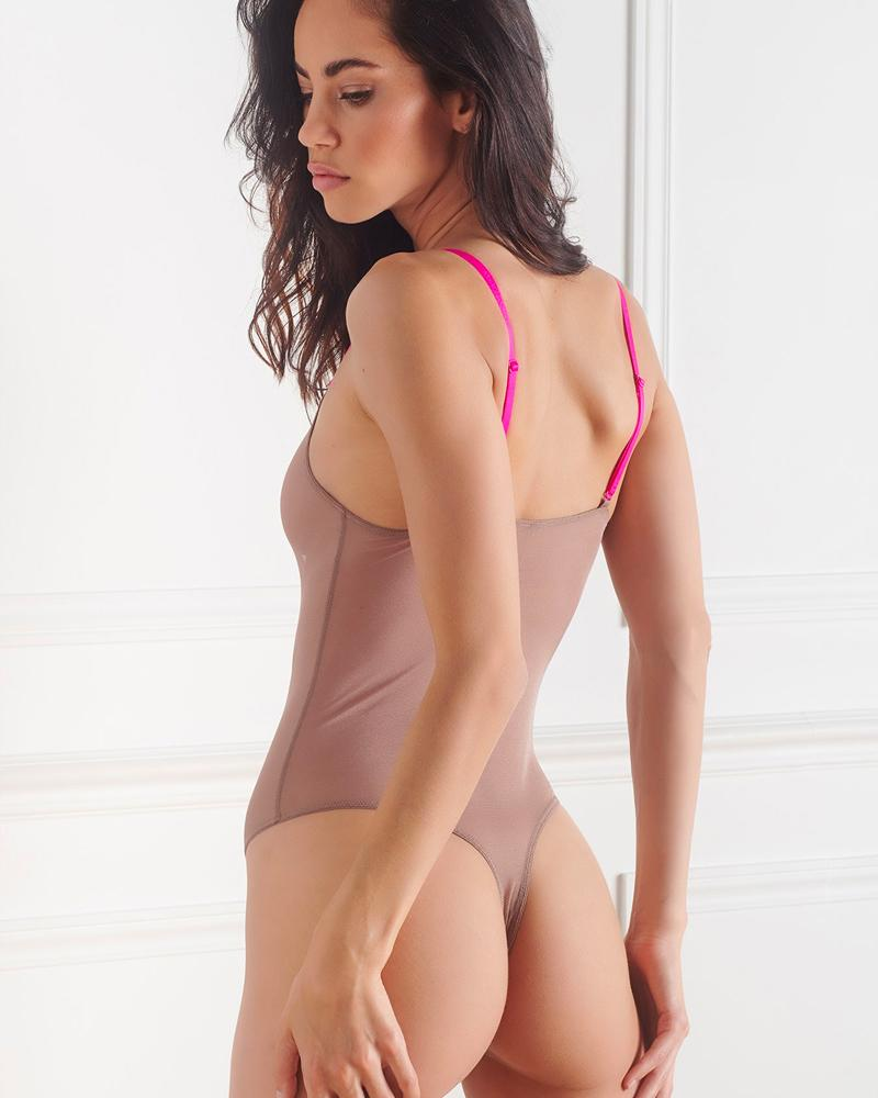 Maison Close Corps A Corps Thong Bodysuit