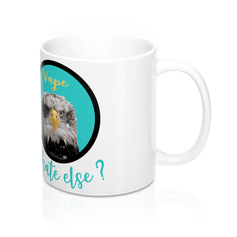 vape mug, a mug for vapers