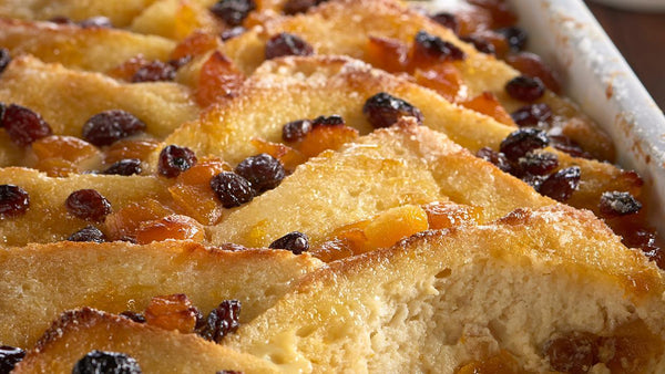 Luxury Orange and Whisky Marmalade Bread & Butter pudding