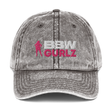 BBW Vintage Cotton Twill Cap