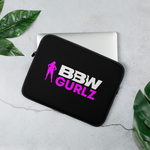 BBW Gurlz - Laptop Sleeve (Black)